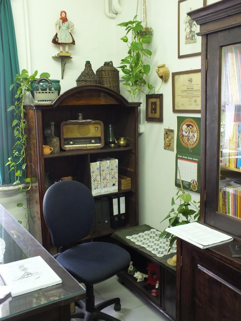 Intézményvezető irodája